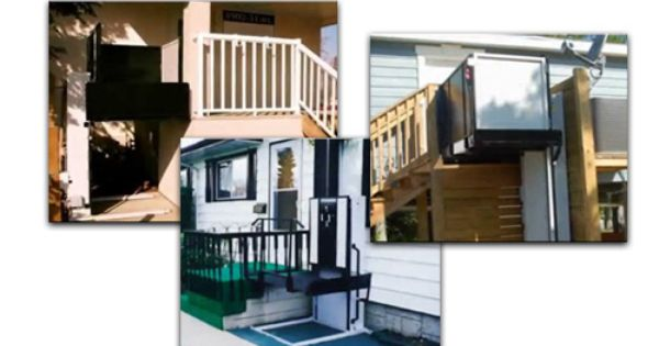 Freedom Wheelchair Lifts For Homes And Buildings Outdoor Wheelchair Lifts Handicapped And