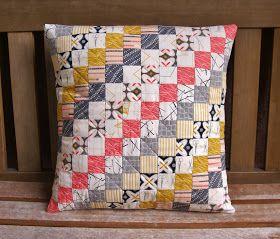 Maker Pillow | Pillows, Quilted pillow