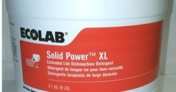 Ecolab Solid Power Commercial Dish Washing Machine Detergent Inexpensive Roof Cleaning Roofing Equipment Washing Machine Detergent Roof Cleaning