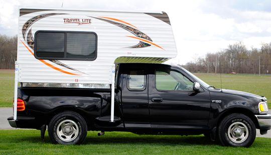 2016 Travel Lite 625 Super Lite Truck Camper Lightweight Truck