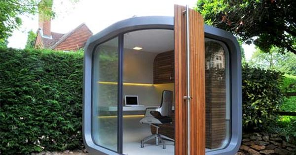 What An Excellent Prefab-Office-Pod - Bet You Don'T Need Planning