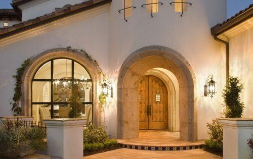 Patio exterior terracota azulejos dream house for Azulejos patio exterior