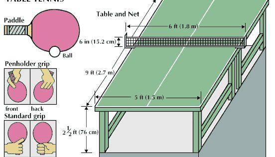Table Tennis Kids Encyclopedia Children S Homework Help Kids Online Dictionary Table Tennis Table Tennis Equipment Tennis