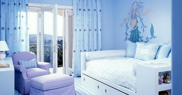 Love This One My Favorite Periwinkle And Light Blue Cool Bedroom Ideas Pinterest Nice