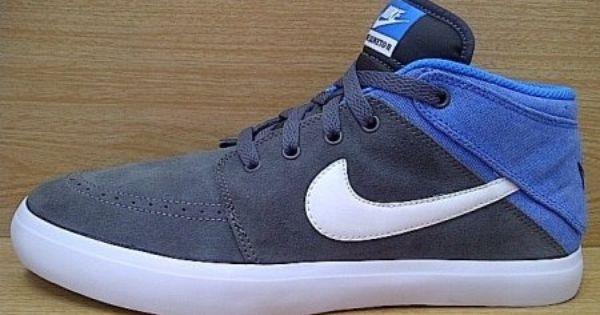 Kode Sepatu Nike Suketo 2 Mid Grey Blue Ukuran Sepatu 42 5