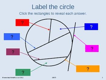 Circle Theorems Workout Teaching Geometry Circle Theorems