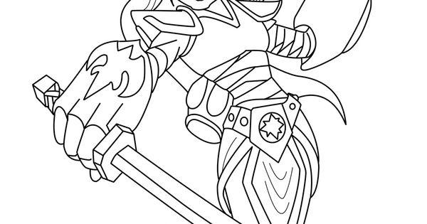 skylanders giants coloring pages ninjini skylander   skylanders giants pages to coloring pictures   coloring ...