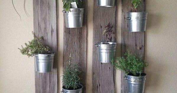 10 id es de d coration magnifiques avec des plantes jardins herbes aromatiques et int rieur - Herbes aromatiques cuisine ...