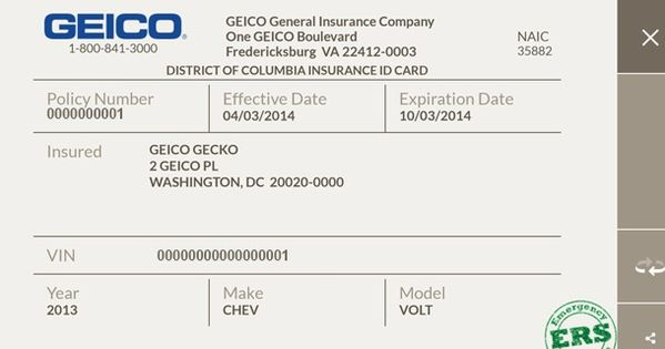 Auto Insurance Allstate Insurance Card Template