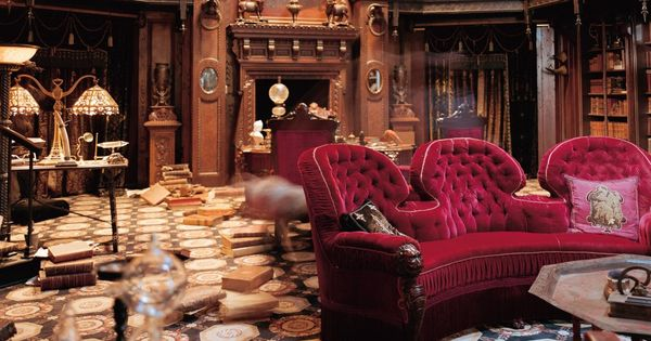 The Study Set From The Haunted Mansion I Loathe And