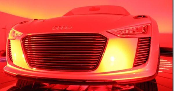 Audi E Tron Spyder3 Cars Pinterest