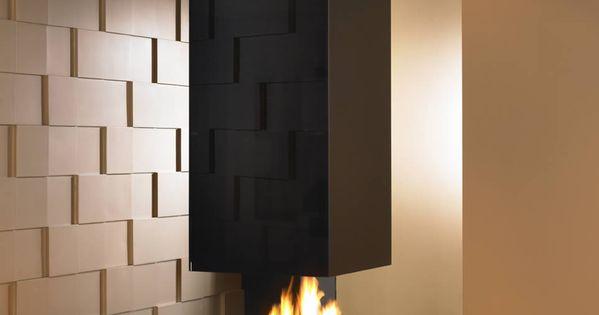 fireplace  black&gold  Pinterest