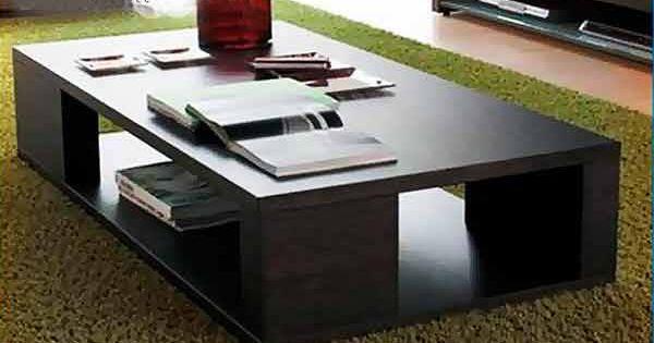 Mesa de centro minimalista mod caracas medidas cubierta for Cubiertas minimalistas