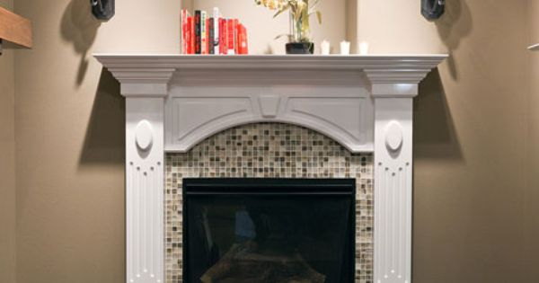 Cbh homes multiple fireplace options including raised heath custom mantle and surrounding - Cbh homes design studio ...