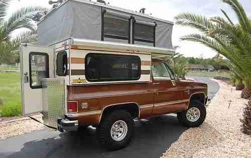 K5 Blazer Roof Rack 1985 Chevrolet K5 Blazer W Custom Four Wheel Camper On 2040cars Camionetas Chevrolet Camioneta Autos Y Motos