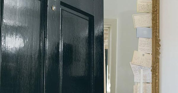 Create an elegant entryway fit for royalty this door is for 10 downing street front door paint