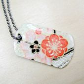 How To Decorate A Dog Tag Other Free Tutorials For Jewelry