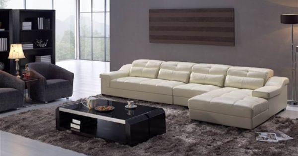 Tolberh Adjustable Leather Sectional Sofa 179999  : 7a9d4c712f3dafbb37318cbd2610fb4a from www.pinterest.com size 600 x 315 jpeg 26kB