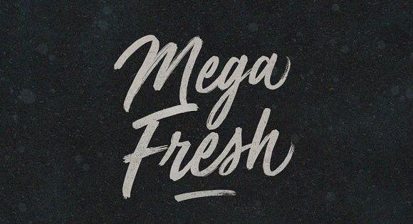 Mega Fresh font like jumbo jets filled with chilled produce