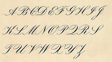 Reading Old Handwriting Trying To Decipher Handwritten Records Can Cause Intense Frustr Cursive Calligraphy Copperplate Calligraphy Calligraphy Writing Styles