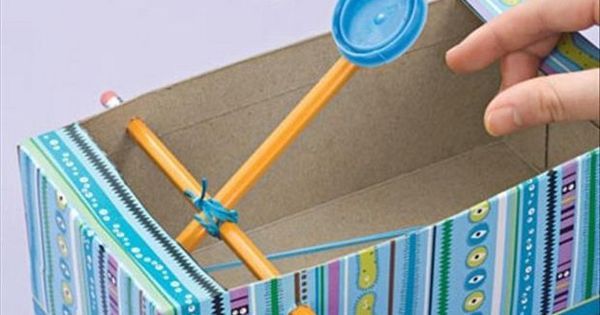 Cool Craft & DIY Ideas- Kleenex Catapult. Perfect for sleepovers, make a