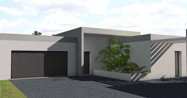 atelier d 39 architecture sc nario maison contemporaine en cocon toit terrasse v g talis. Black Bedroom Furniture Sets. Home Design Ideas