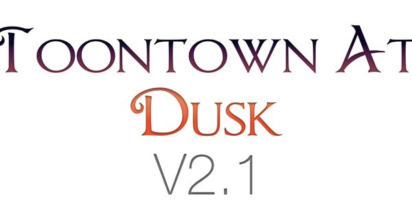 Toontown at dusk v2 1 content pack by ugly corny for Ttr fishing guide