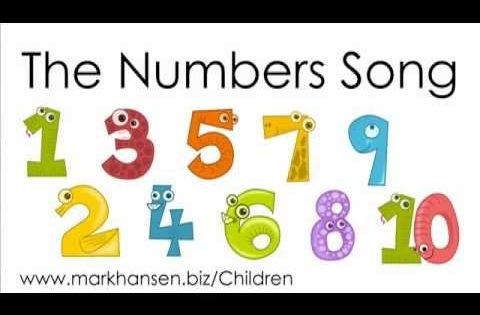 Counting Songs For Children 1-10 Numbers Song Kids