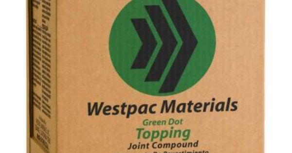 Westpac Materials 3 59 Gal Green Dot Topping Pre Mixed Joint Compound Green Dot Material Dots