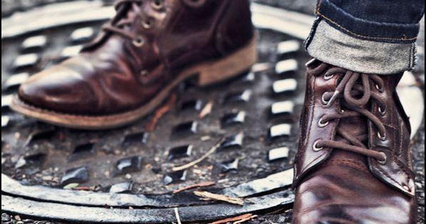 #MensFashion Men Fashion Shoes Brown Boots