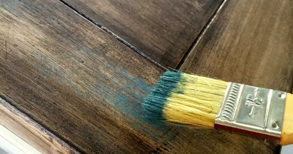 Dry Brush Over Stain Craft Pinterest Chalk Paint