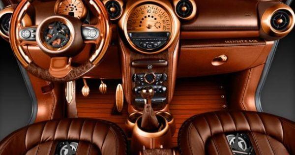 Steampunk Mini Cooper Interior Vw Bulli Pinterest