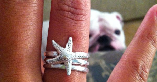 I really NEED to buy this. starfish ring.