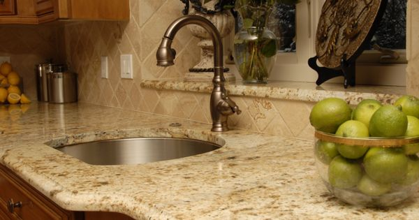 Prep Sink With Birch Frost Lapidus Granite At Surface