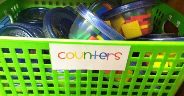 Good idea for classroom organization.