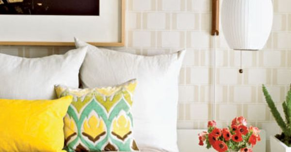 Going Mod Guest Room - 25 Guest Bedroom Ideas - Coastal Living