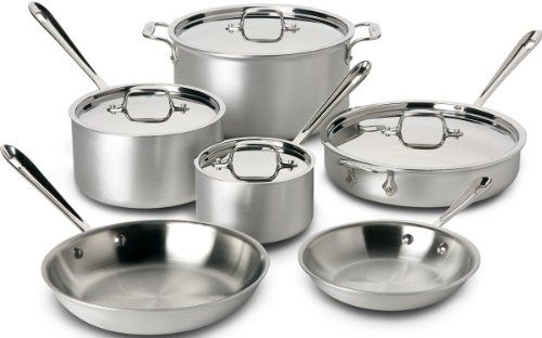 Allclad 700508 Mc2 Professional Master Chef 2 Stainless Steel