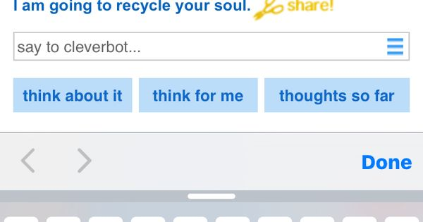 cleverbot blackberry Full 1