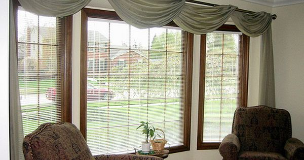 Window Treatments For Bay Windows 5 Options For Bay