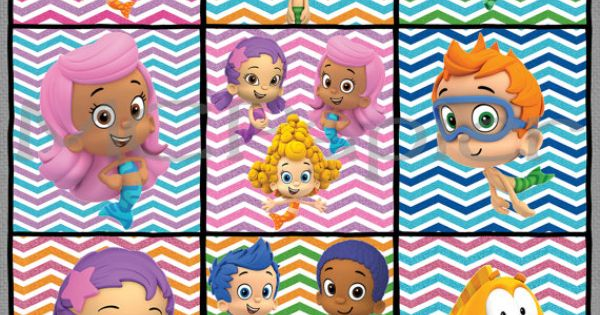 Printable Bubble Guppies Birthday Banner You Print Bubble Guppies Bubble Guppies Birthday