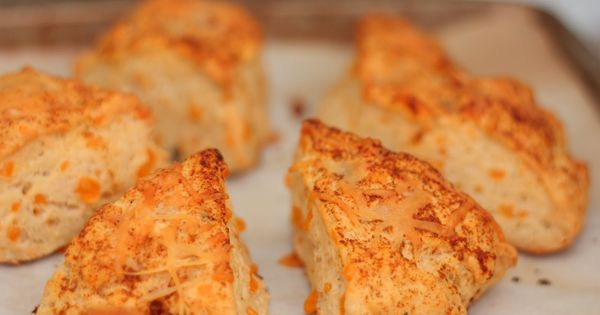 Cracked pepper, Scones and Cheddar on Pinterest