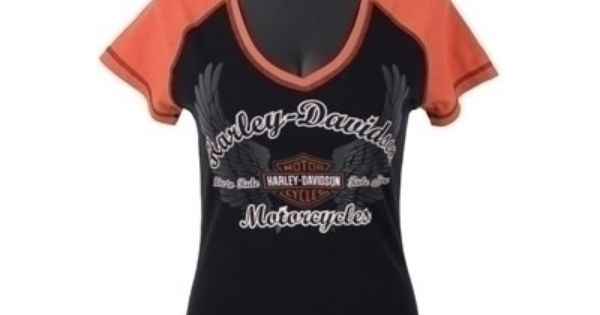 Harley Davidson Clearance Clothing for Women | Raglan V ...