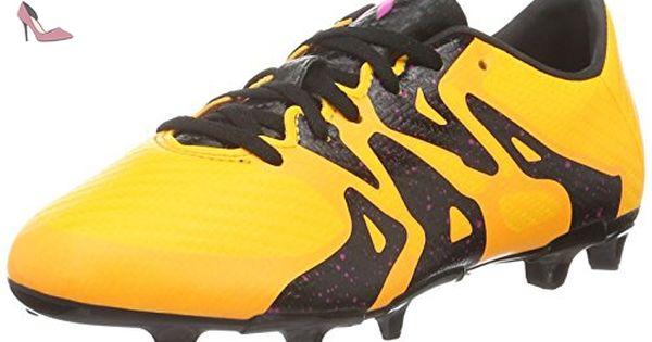 adidas X 15.3 FgAg J, Chaussures de Football Mixte Enfant