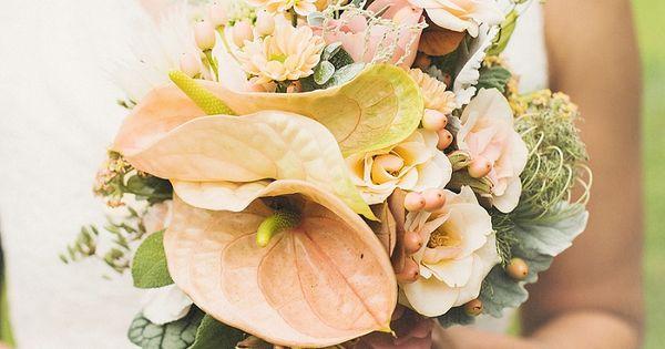 BrautstrauA? Pastellfarben von Hellbunt Events | Hochzeitsblog - The Little Wedding Corner