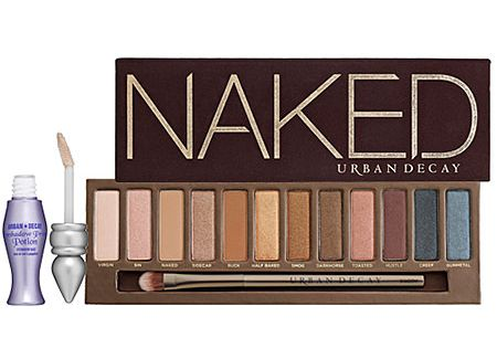 My every day go-to eyeshadow palette: Urban Decay's Naked. You can create