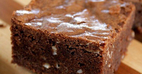 Dark Chocolate and Nutella Coconut Brownies | Recipe | Coconut ...