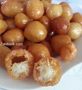 طريقة عوامة بتقرش قرش حتى ثاني يوم خطوة بخطوة مع الصور زاكي Cooking Recipes Desserts Food Receipes Ramadan Desserts