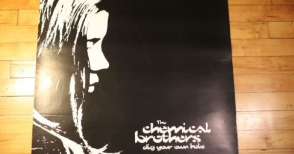 Rare Chemical Brothers Poster For Sale Sale Poster Artist Pop