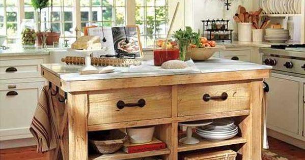Estilo r stico tnico cocinas pinterest cocinas - Mueble cocina rustico ...