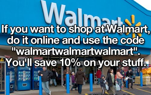I detest Walmart but if someone else can keep some money out